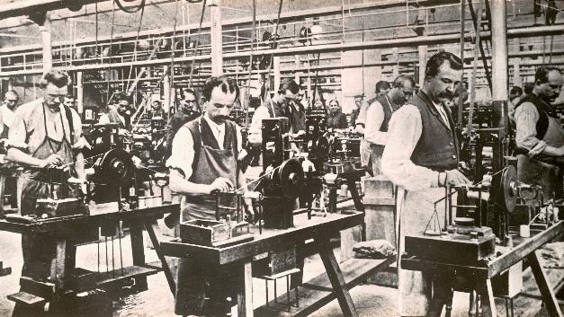 Im Zuge des industriellen Aufschwungs entstand im 19. Jahrhundert eine blühende leonische Industrie im mittelfränkischen Raum.
