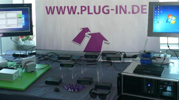 PLUG-IN Electronic Tisch 2 (USB-Messtechnik, Industrie-PC, Vibrationsanalyse)