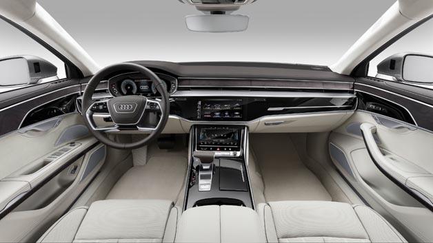 Cockpit im Audi A8 L