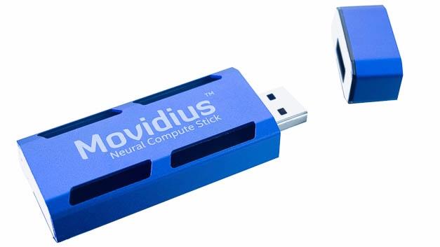 Movidius Neural Compute Stick: Intelligenz im USB-Format.