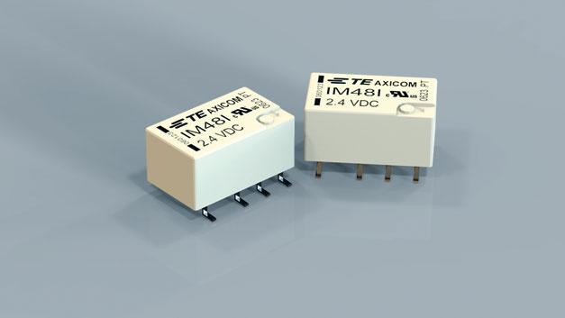 Bild 3. TE Connectivity hat mit der IM-Serie neue Signalrelais im Programm, die – dank einer Schutzgasbefüllung – für Ströme bis 5A (12V) ausgelegt sind.
