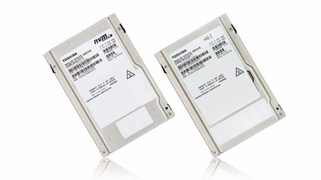 Server-Speicher von Toshiba: Flash-Laufwerke mit SAS- und NVMe-Interface und Speicherkapazitäten bis 30 (!) TB.