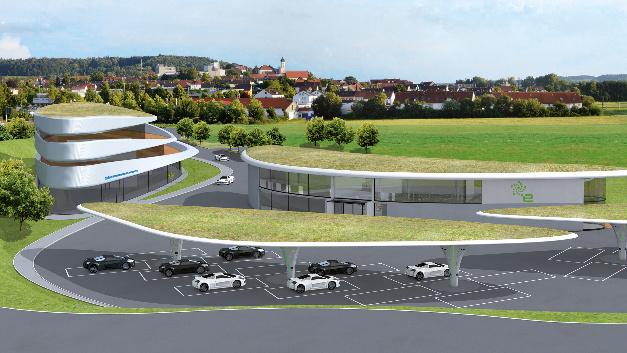 Projekt Sortimo Innovationspark     am Ortseingang Zusmarshausen