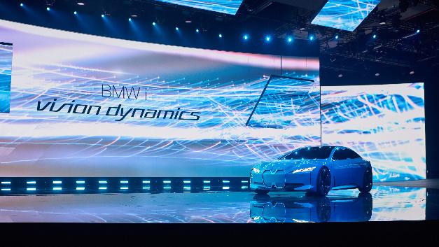 Auf der IAA präsentiert BMW seine Elektromibilitäts-Studie BMW i Vision Dynamics.
