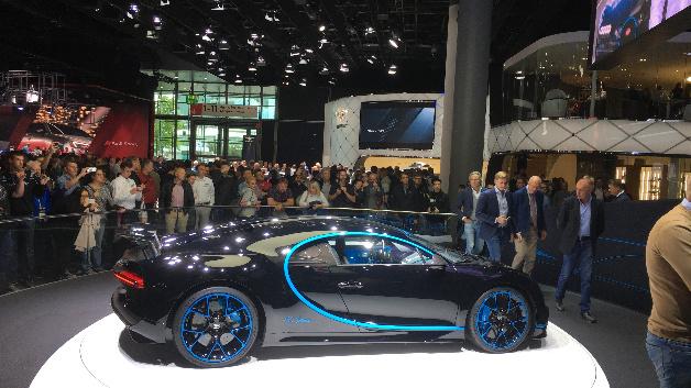 Bugatti Chiron Seitenansicht