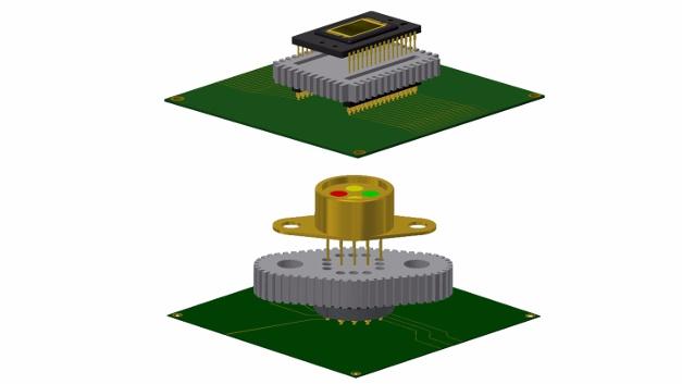 Andon Electronics hat eine neuartige Variante von Stecksockeln für elektronische Bauteile entwickelt, bei dem bereits ein Kühlkörper für das zu sockelnde Bauteil integriert ist.