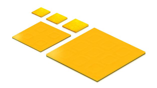 Im LED-Bereich sind CSP-Gehäuse im Bereich der Display-Hinterleuchtung seit einigen Jahren bekannt. In jüngerer Zeit fertigen Chiphersteller auch LEDs für die Allgemeinbeleuchtung in CSP-Technik.