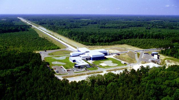 Der LIGO-Detektor in Livingston