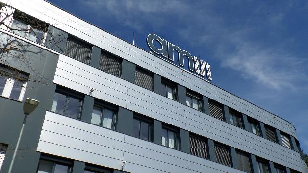 Das neuste Gebäude am Hauptsitz von ams.