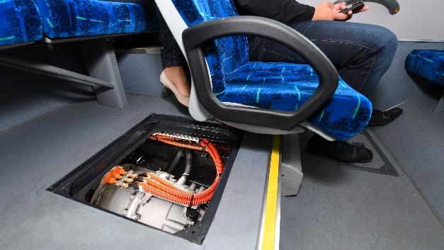Unterbrechungsfreie Beschleunigung, reduzierte Vibrationen und geräuscharmer Betrieb machen CeTrax zu einem Komfortgewinn für Passagiere.