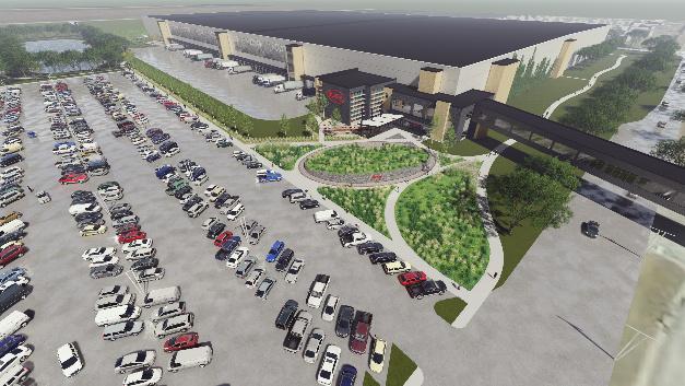 So wird das neue Logistikgebäude in Thief River Falls mit 204.000 Quadratmeter Nutzfläche aussehen.