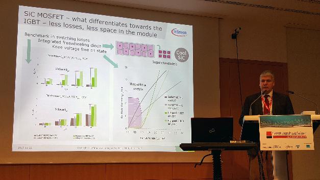 In seinem 60-minütiges Intensivseminar gng Dr. Peter Friedrichs, Senior Director SiC bei Infineon, auf das Thema Siliziumkarbid in der Anwendung ein.