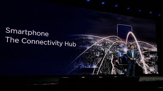 Richard Yu sieht das Smartphone als den Connectivity Hub schlechthin.