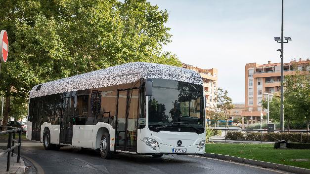 Der elektrische Citaro feiert im Rahmen der IAA Nutzfahrzeuge 2018 in Hannover Weltpremiere.
