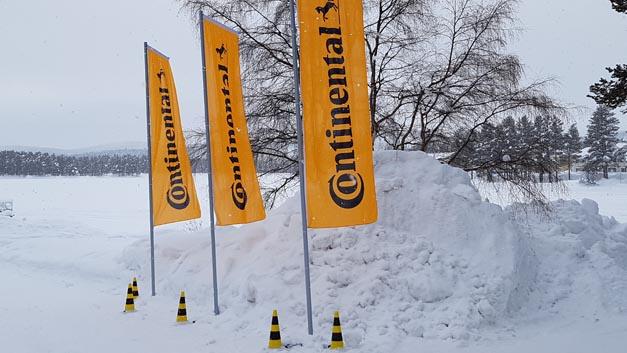Ende Februar veranstalteten die Continental-Divisions Chassis & Safety sowie Reifen im nordschwedischen Arvidsjaur für die Fachpresse einen Wintertest, um neue Technologien auf dem Weg zu Vision Zero zu präsentieren.