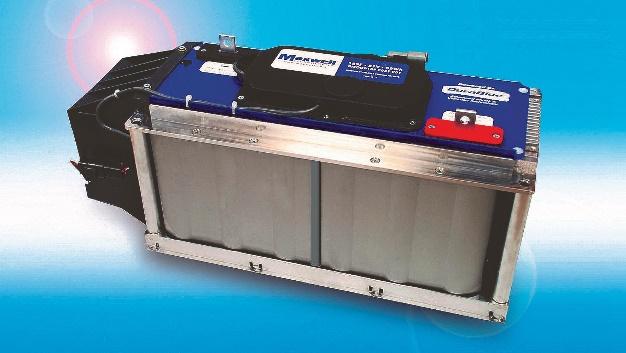 Das Ultrakondensatormodul mit aktiver Kühlung aus dem Hause Maxwell Technologies wird als dritter Gewinner ausgewählt.