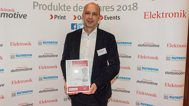 Für Schunk nahm Dr. Martin May die Auszeichnung entgegen.
