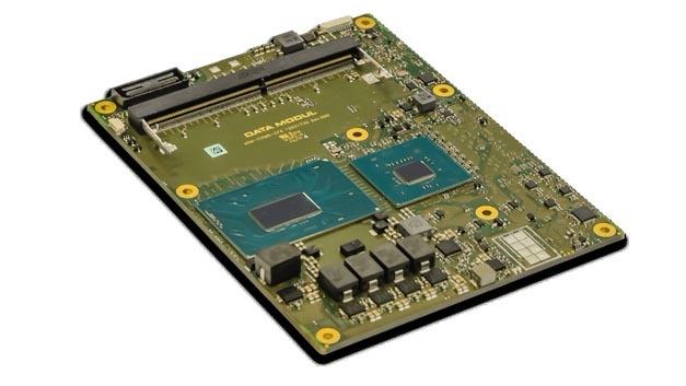 Data Modul bestückt einen eigenen DMEC  (DATA MODUL Embedded Controller), der Multiplexer für die I/O-Schnittstellen, Watchdog, UART, GPIO I²C-Bus, SPI, PWM und Board-Informationen übermittelt.