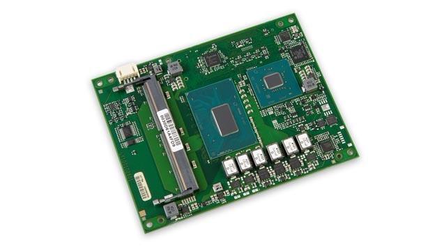 MSC kann auf dem COM-Express-Modul bis zu 32 GB RAM unterbringen und bestückt auch ein TPM-2.0-Modul.