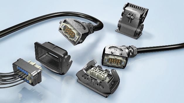 Die Steckverbinder-Reihe Han-Eco mit den Gehäusen aus Hochleistungskunststoff ist jetzt vollständig mit dem Industriestandard Han B von Harting kompatibel. In die entsprechenden Kunststoff-Gehäuse passen nun alle Kontakteinsätze und Module, die auch in das Standard-Metallgehäuse eingefügt werden können. Kunststoff- und Metall-Versionen sind jeweils kompatibel.  Durch die Verwendung von Kunststoff erhöht sich die Korrosionsbeständigkeit. Der eingesetzte Hochleistungskunststoff ist brandbeständig nach UL94-V0 und reduziert das Gehäusegewicht im Vergleich zum Metall um ungefähr die Hälfte. Neben der Verwendung von Standard-Monoblöcken ist über den Gelenkrahmen auch der Einsatz der Reihe Han-Modular möglich. Entsprechend bestückte Metall-Gelenkrahmen lassen sich in den neuen Gehäusen fest verschrauben.