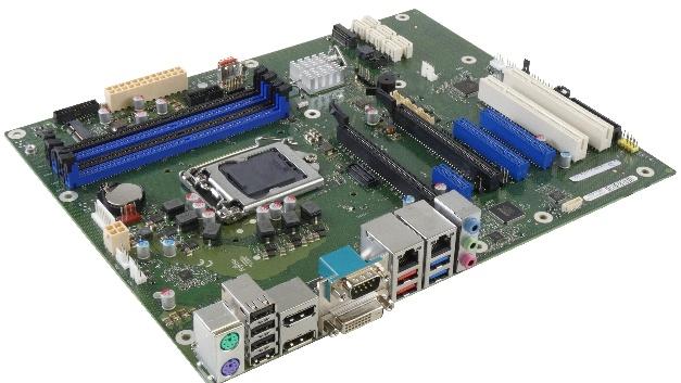 Das Fujitsu D3646-S ist ein Mainboard im klassischen ATX-Format mit dem Xeon-Chipsatz C246. Mit seinen sieben Erweiterungsslots bietet es zahlreiche Ausbaumöglichkeiten.