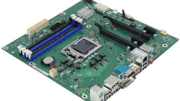 Das Fujitsu D3643-H ist ein MicroATX-Board mit dem B360-Chipsatz.