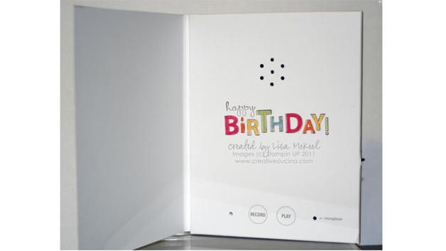 Bild 2. Dank gedruckter Batterie lässt sich zum Beispiel eine Glückwunschkarte mit Musik enorm flach gestalten.