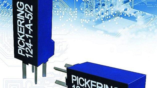 Pickering Electronics hat das kleinste Reed-Relais der Branche angekündigt. Die Series 124 kommt mit einer Montagefläche von lediglich 4 mm × 4 mm aus und ermöglicht so hohe Packungsdichten. Die Relais sind mit 9,5 mm Bauhöhe die flachsten Bauteile, die mit einer Grundfläche von 16 mm² auskommen. Des Weiteren sind die Relais zurzeit als einpoliger Ein/Aus-Schalter (Schließer) mit 3-V- oder 5-V-Spule erhältlich. Die Reed-Relais aus der Series 124 sind mit einem gesputterten Ruthenium-Schalter mit 5 W Schaltleistung und 0,5 A Dauerstrom ausgestattet. Außerdem überzeugen sie mit typisch 80 µs durch kürzeste Ansprechzeiten; dies macht sie so zur idealen Wahl für Hochgeschwindigkeits-Prüfanlagen. Darüber hinaus sind sie für Anwendungen wie Mess- und Prüfgeräte sowie Halbleiter-Schaltmatrizen oder Multiplexer geeignet.