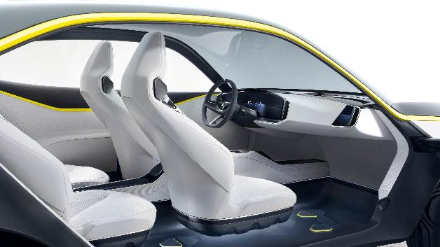 Der Opel GT X Experimental basiert auf einer Leichtbau-Architektur.