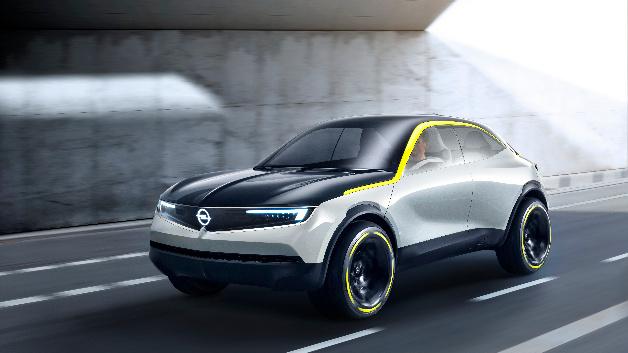 Der Opel GT X Experimental ist ein kompaktes SUV mit Coupé-Anmutung.