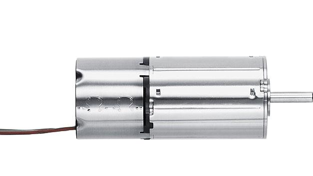 Bild 3. Bürstenlose DC-Servomotoren mit integriertem Speed Controller der Serie 2232 ... BX4 SC.