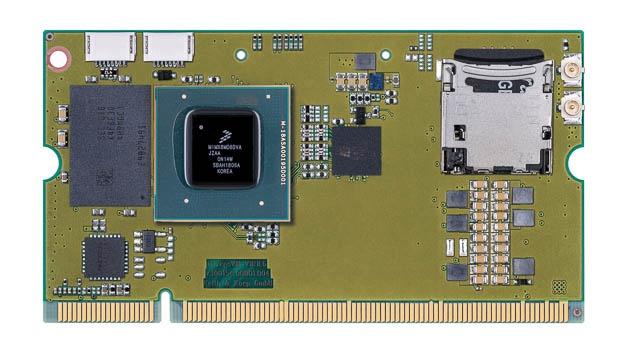 Das Computermodul Trizeps VIII verwendet den i.MX-8M-Prozessor mit einem Quad-Core Cortex-A53, einem Cortex-M4 sowie zusätzlich eine NXP Kinetis ARM Cortex-M0+ mit A/D-Umsetzer, CAN-, SPI- und I2C-Schnittstellen. Ethernet ist ebenfalls an Bord, ebenso wie ein LVDS-Transceiver für Displays. Das CPU-Modul erfüllt die hohen Leistungsanforderungen, die durch aktuelle Video-, Sprach- und Audioverarbeitung entstehen, sei es für Industrie- und Hausautomation, Streaming-Audio-Anwendungen oder moderne Bildgebungsgeräte.
