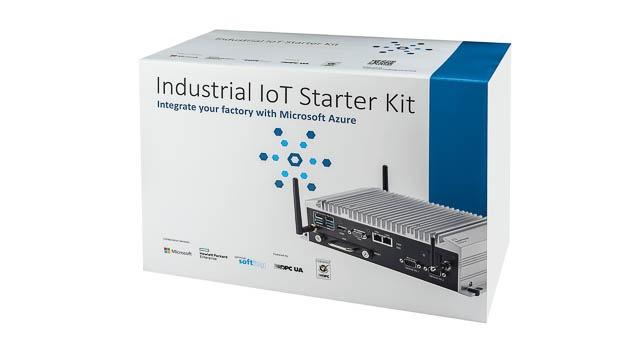 tarterkit für Azure- und OPC-UA-Anbindung: Das Industrial IoT Starter Kit (IISK) ist ein Gateway für industrielle IoT-Lösungen mit bereits integrierter  Microsoft-Azure-Anbindung.  Die Verwendung der OPC-UA-Interoperabilitätsstandards bieten volle Flexibilität auch hinsichtlich der Kommunikationsfunktionen in der Fabrik. Das Starterkit bündelt das IoT Gateway GL20 von HPE, Softings dataFEED OPC-Suite und die Microsoft Azure IoT Edge Components 'OPC Proxy' und 'OPC Publisher' in einem Produkt. Zu den wichtigsten Vorteilen gehören die Unterstützung einer breiten Palette von SPS- und Sensorschnittstellen sowie die nahtlose Integration in Microsoft Azure Connected Factory.