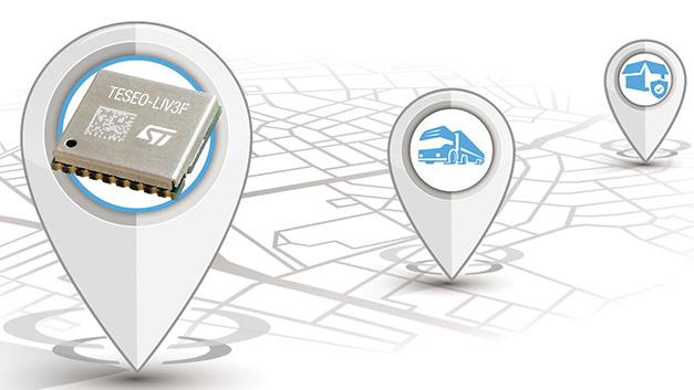 014: Damit Maker und kleinere Entwicklerteams eine Satellitennavigation ohne großen Aufwand in ihre Applikationen integrieren können hat STMicroelectronics ein einfach anzuwendendes Modul mit seinem neuen GNSS-IC Teseo III entwickelt: Teseo-LIV3F. Dazu wurde der GNSS-IC, der Signale von GPS, Galileo, Glonass, BeiDou und QZSS (Quasi-Zenith Satellite System) empfangen kann, um Flash-Speicher (16Mbit) und Taktgenerator (TCXO und RTC) ergänzt und in ein kleines Modul (9,7 × 10,1mm2) gepackt. Damit hofft STMicroelectronics die Hürde für den Einstieg zum Entwickeln von GNSS-Applikationen zu senken, so dass viele neue Anwendungen im Industrie- und Konsumgerätemarkt entstehen. Als Beispiele nennt STMicroelectronics Fahrzeug-Tracker, Drohnen, Diebstahlssicherungen, Haustier-Ortungsgeräte sowie Systeme für Dienste wie etwa Flottenmanagement, Maut, Car-Sharing oder den öffentlichen Personenverkehr. Durch die FCC- und CE-Zertifizierungen des GNSS-Moduls vereinfacht sich zusätzlich die Zertifizierung der fertigen Geräte, so dass Produkte schneller auf den Markt gebracht werden können.