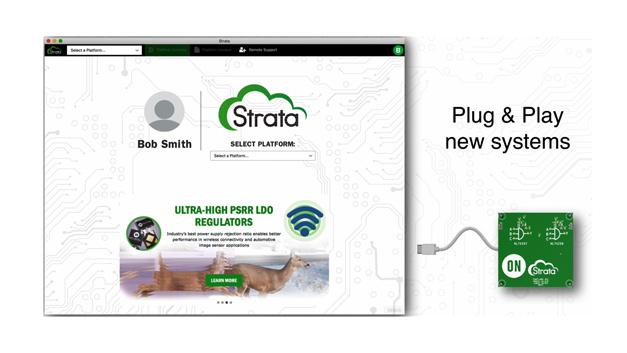 Anschluss der Entwicklungsmodule per Plug & Play