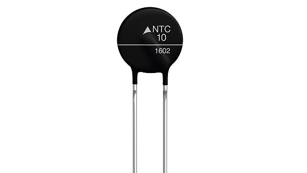 Bild 2. NTC mit einem Anfangswiderstand R25 von 10 Ω.