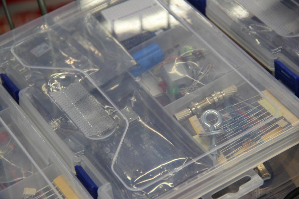Das Satelliten-Kit