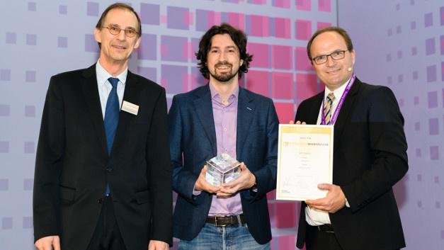 Preisträger in der Kategorie »Hardware«: Ultrahaptics mit seinem ultra- haptischen »STRATOS Inspire«-Modul