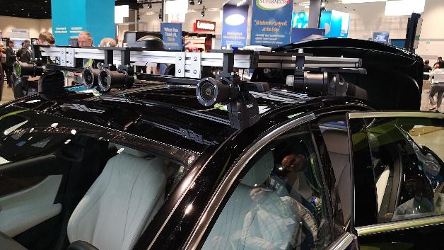Nvidia setzt bei den Sensoren auf Kameras und Radar, verzichtet aber auf Lidars.