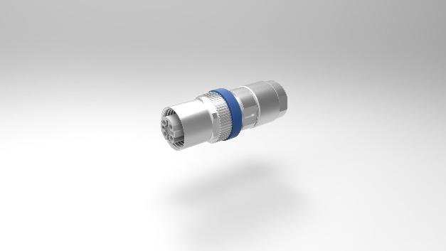 Der M12 Mini von Provertha hat eine Länge von 44 mm bei einem Außendurchmesser von 16/14 mm. Trotzdem bietet der Stecker einen Kabelklemmbereich von 4 bis 9 mm. Das spezielle Vollmetall-Gehäuse sorgt für eine effektive Schirmung mit hoher EMV. Gleichzeitig ist eine massive vollgeschirmte Zugentlastung gegeben. Den M12-Kabelstecker gibt es in den Kodierungen A-5, A-8, B und D. Die M12-Verriegelungsmutter mit 6-Kant-Kombi-Rändel ermöglicht eine einfaches Anziehen der Schraubverbindung mit definierten Drehmoment. Die Einzeladern (Aderquerschnitt AWG 18 - 28) werden über gedrehte Crimp-Snap-in-Kontakte angeschlossen. Die Strombelastbarkeit ist mit 4 A (2 A bei A-8) spezifiziert und der Durchgangswiderstand mit < 5 mΩ. Die Schutzart ist IP67 (schraubverriegelt). Der M12 Mini kann im Temperaturbereich von -40° C bis +85° C eingesetzt werden und ermöglicht mehr als 250 Steckzyklen.