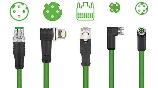 Eine neue Leitung des Anschlusstechnikspezialisten Escha ermöglicht es ab sofort Profinet in Roboterapplikationen einzusetzen. Während bisherige Profinet-Meterwaren entweder nur mit Schleppketteneigenschaften oder Torsionseigenschaften erhältlich waren, vereint die neue Meterware namens 'Profinet Robotic' beide Eigenschaften in optimaler Weise. Die flexible Ethernet-Leitung hält ohne weiteres bis zu 5 Millionen Biegezyklen und 5 Millionen Torsionszyklen stand. Sie bei Escha in konfektionierter Ausführung mit M12x1-Steckverbindern (vierpolig, D-codiert) oder RJ45-Steckverbindern erhältlich.