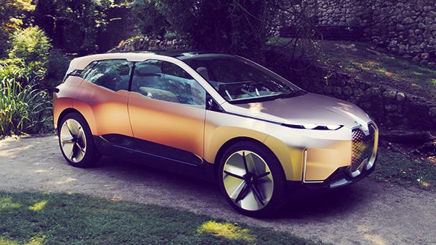 Das Concept Car BMW Vision iNext von BMW ist vollelektrisch, hochautomatisiert und voll vernetzt.
