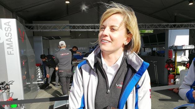 Die frühere Rennfahrerin Susie Wolff leitet seit dieser Saison das Venturi-Team. Lust einmal in den E-Rennwagen zu steigen, verspürt sie aber nicht: »Ich habe genügend Dinge zu tun. Für die Rennen habe ich zwei großartige Fahrer. Warum sollte ich da ins Fahrzeug steigen?«