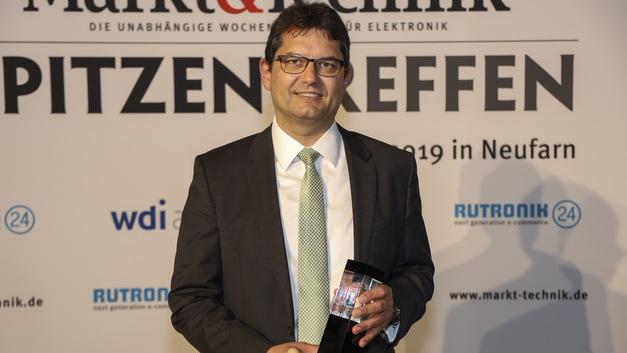 Kategorie Batterien und Batteriekonfektionierung:   Rainer Hald, CTO Varta Microbattery und Varta Storage