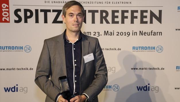 Kategorie Batterien und Batteriekonfektionierung:   Josef Pfeil, Vertriebsleiter, Dynamis Batterien