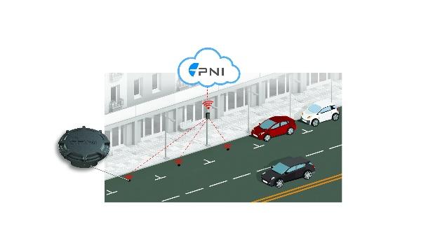 Der PlacePod ist als im Boden eingelassener oder an der Oberfläche montierter Sensor erhältlich, der problemlos auf ausgewiesenen Parkflächen – auch auf Straßen – installiert werden kann