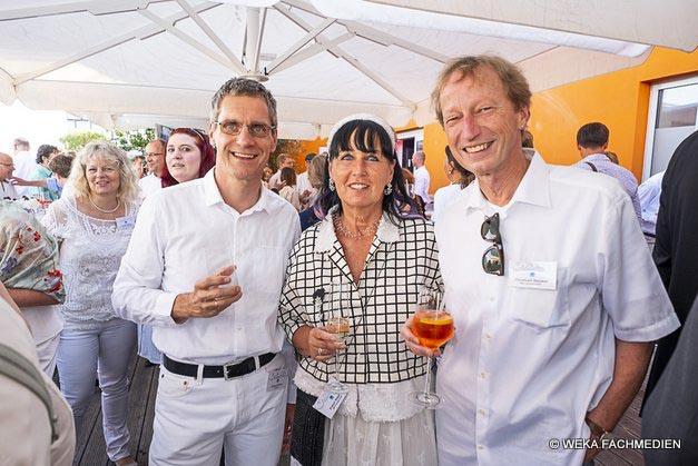 Neu-Editor-at-Large Gerhard Stelzer mit Evelyn Stepken und ihrem Mann.