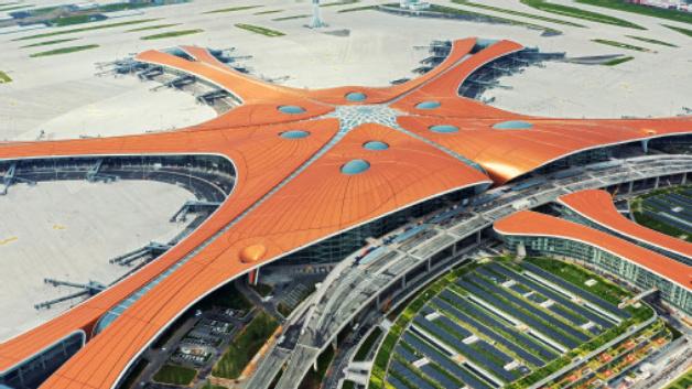 Osram hat den neuen Beijing Daxing International Airport mit einer intelligenten LED-Beleuchtung ausgestattet