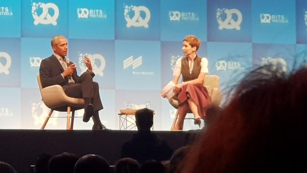 Obama über Diversity: »Männer reden mehr in Meetings als Frauen. Und sie glauben, sie hätten Ahnung von dem, worüber sie reden. Auch wenn dem gar nicht so ist. Männer sollten daher lernen, (Frauen) zuzuhören.«