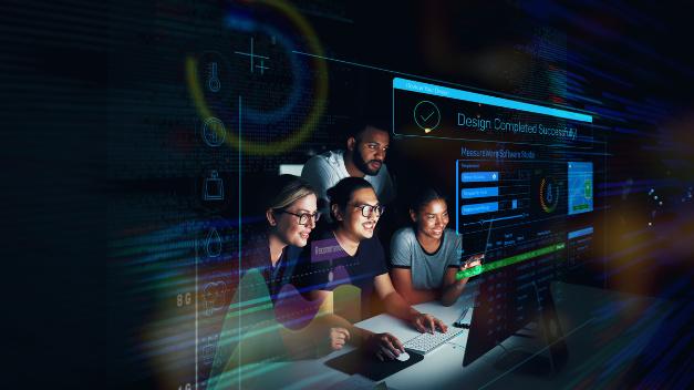 Das intuitive MeasureWare Software Studio umfasst die drei Komponenten Designer, Lab und Developer.